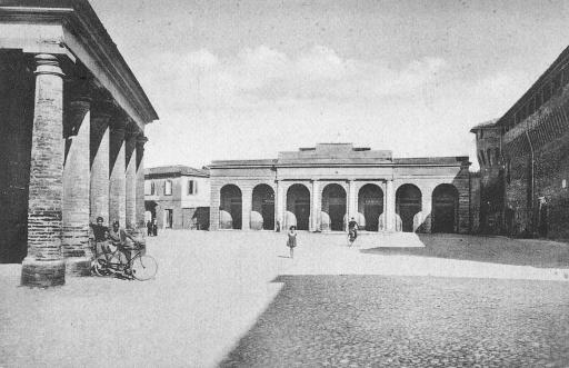 Piazza Pompilio - foto storica