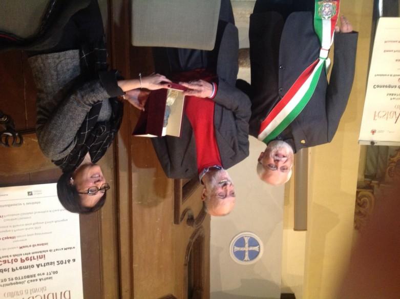 Consegna Premio Artusi 2016 a Carlo Petrini