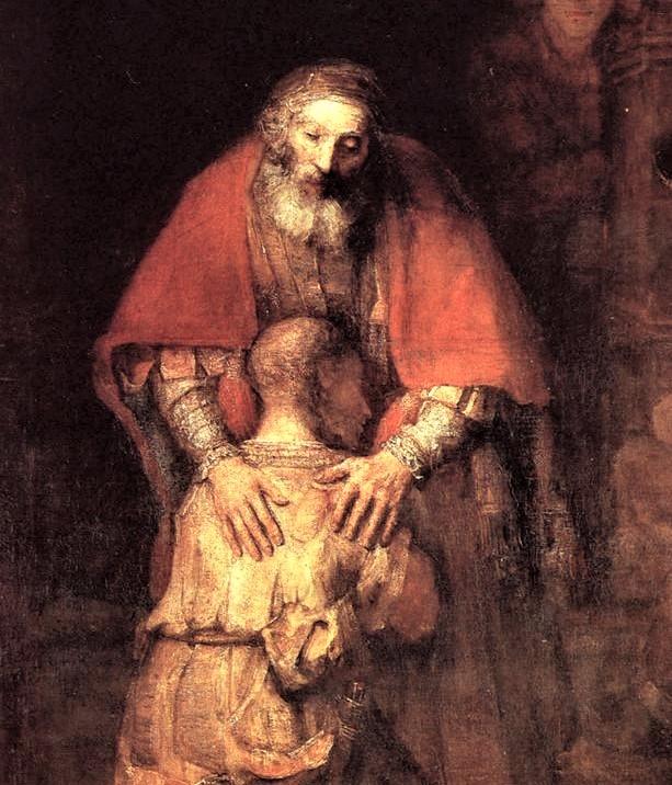 mostra l'abbraccio misericordioso