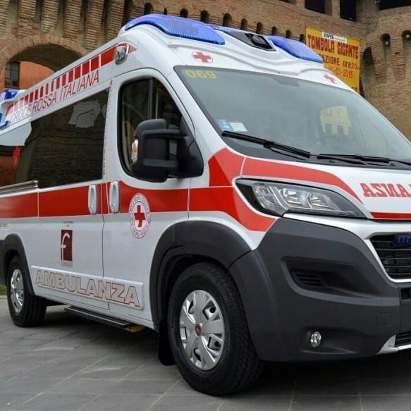 ambulanza croce rossa forlimpopoli bertinoro