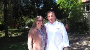 chef Sébastien Charretier sabato 30 giugno