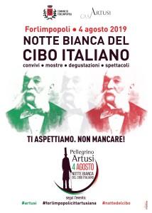 copertina(retro libretto) XXIII edizione Festa Artusiana_2019