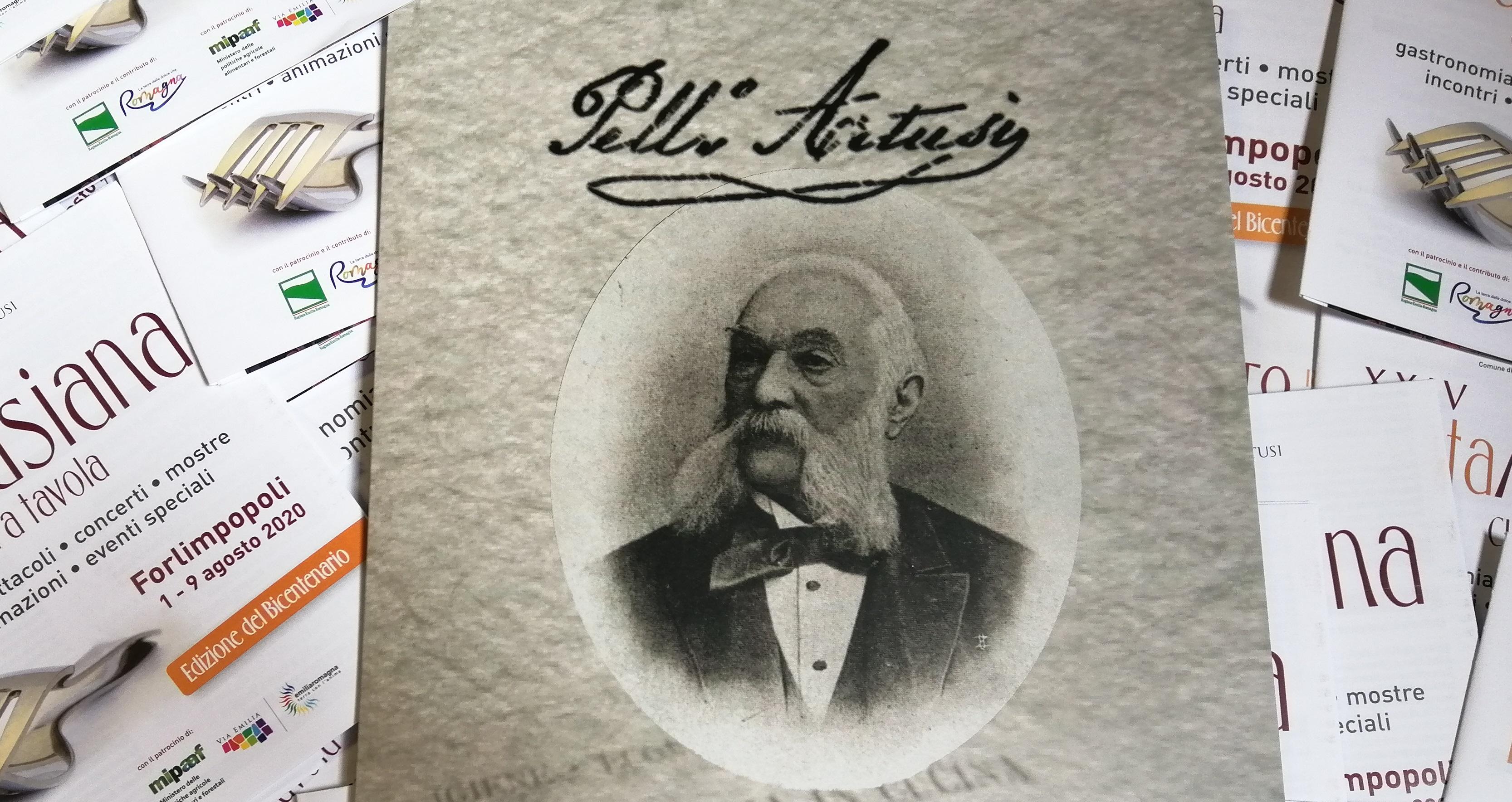 folder-francobollo-bicentenario-nascita-Pellegrino-Artusi